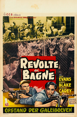 Revolt in the Big House - 11 x 17 Movie Poster - Belgian Style A