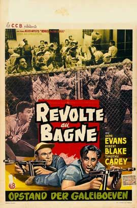 Revolt in the Big House - 27 x 40 Movie Poster - Belgian Style A