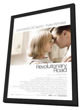 Revolutionary Road - 11 x 17 Movie Poster - Style A - in Deluxe Wood Frame