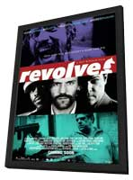 Revolver - 11 x 17 Movie Poster - Style M - in Deluxe Wood Frame