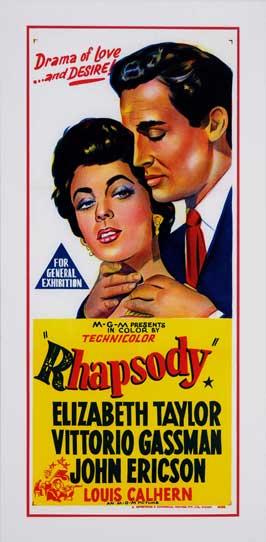 Rhapsody - 13 x 30 Movie Poster - Australian Style A