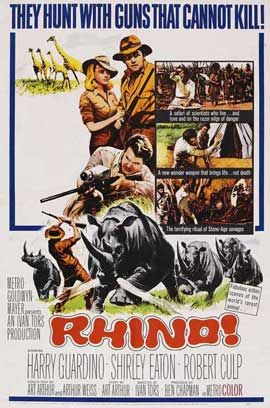 Rhino - 11 x 17 Movie Poster - Style A
