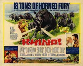 Rhino - 22 x 28 Movie Poster - Half Sheet Style A