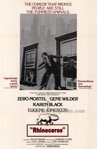 Rhinoceros - 27 x 40 Movie Poster - Style A
