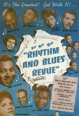 Rhythm and Blues Revue - 11 x 17 Movie Poster - Style A