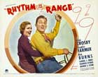 Rhythm on the Range - 11 x 14 Movie Poster - Style B