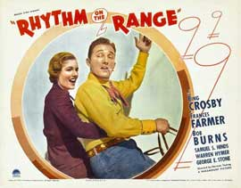 Rhythm on the Range - 11 x 14 Movie Poster - Style A