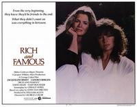 Rich and Famous - 11 x 14 Movie Poster - Style A