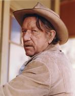 Richard Boone - Richard Boone Posed in Cowboy Attire