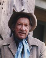 Richard Boone - Richard Boone Close Up Portrait