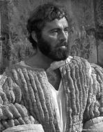 Richard Burton - Richard Burton Posed in King Attire