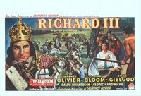 Richard III - 14 x 22 Movie Poster - Belgian Style A