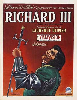 Richard III - 11 x 17 Movie Poster - Belgian Style A