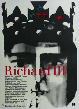 Richard III - 11 x 17 Movie Poster - German Style A