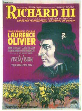 Richard III - 11 x 17 Movie Poster - French Style A