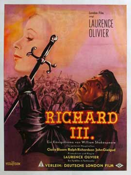 Richard III - 11 x 17 Movie Poster - German Style B