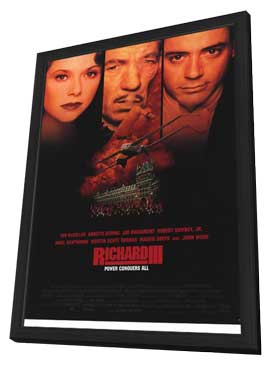 Richard III - 27 x 40 Movie Poster - Style A - in Deluxe Wood Frame