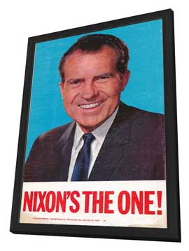 Richard Nixon - 11 x 17 Movie Poster - Style A - in Deluxe Wood Frame