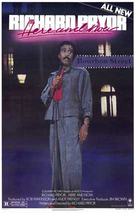 Richard Pryor Here and Now - 11 x 17 Movie Poster - Style A