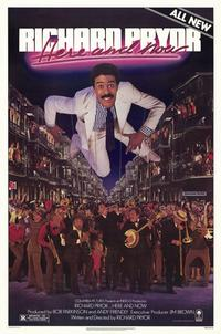 Richard Pryor Here and Now - 11 x 17 Movie Poster - Style B