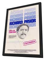 Richard Pryor in Concert - 11 x 17 Movie Poster - Style C - in Deluxe Wood Frame