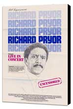Richard Pryor in Concert - 11 x 17 Movie Poster - Style C - Museum Wrapped Canvas