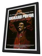 Richard Pryor: Live in Concert - 11 x 17 Movie Poster - Style A - in Deluxe Wood Frame