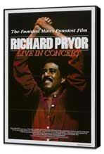 Richard Pryor: Live in Concert - 27 x 40 Movie Poster - Style A - Museum Wrapped Canvas