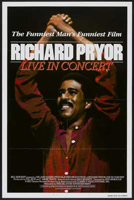Richard Pryor: Live in Concert - 27 x 40 Movie Poster - Style A