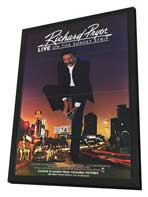 Richard Pryor Live on Sunset Strip - 27 x 40 Movie Poster - Style A - in Deluxe Wood Frame