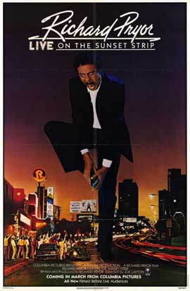 Richard Pryor Live on Sunset Strip - 11 x 17 Movie Poster - Style A