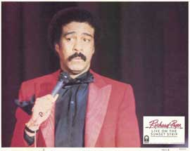 Richard Pryor Live on Sunset Strip - 11 x 14 Movie Poster - Style D