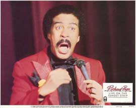 Richard Pryor Live on Sunset Strip - 11 x 14 Movie Poster - Style G
