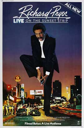 Richard Pryor Live on the Sunset Strip - 27 x 40 Movie Poster - Style A