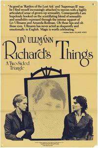 Richard's Things - 27 x 40 Movie Poster - Style A