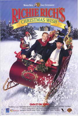 Richie Richs Christmas Wish - 27 x 40 Movie Poster - Style A