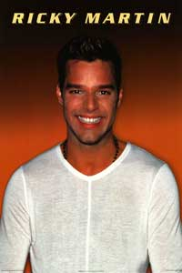 Ricky Martin - Music Poster - 24 x 36 - Style A