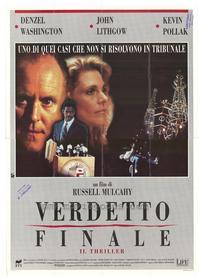 Ricochet - 27 x 40 Movie Poster - Italian Style A