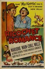 Ricochet Romance - 11 x 17 Movie Poster - Style A
