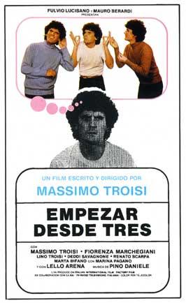 Ricomincio da tre - 11 x 17 Movie Poster - Spanish Style A