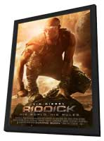 Riddick - 27 x 40 Movie Poster - Style B - in Deluxe Wood Frame