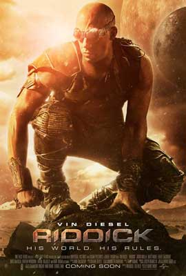 Riddick - 11 x 17 Movie Poster - Style B