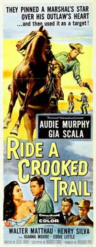 Ride a Crooked Trail - 14 x 36 Movie Poster - Insert Style A