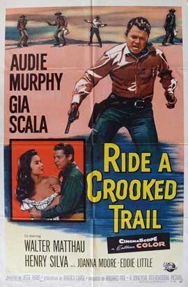 Ride a Crooked Trail - 11 x 17 Movie Poster - Style A