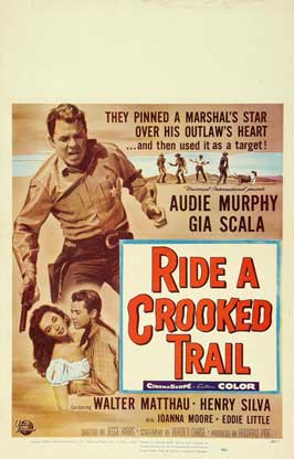Ride a Crooked Trail - 11 x 17 Movie Poster - Style B