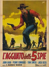Ride A Violent Mile - 27 x 40 Movie Poster - Italian Style A