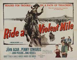 Ride A Violent Mile - 11 x 14 Movie Poster - Style A