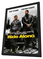 Ride Along - 27 x 40 Movie Poster - Style A - in Deluxe Wood Frame