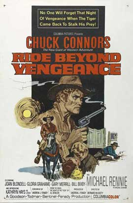 Ride Beyond Vengeance - 27 x 40 Movie Poster - Style A