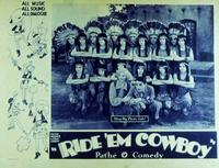 Ride 'em Cowboy - 11 x 14 Movie Poster - Style A